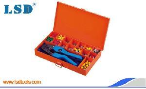 0516th crimping tool kits metal case