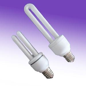 2u shape energy saving lamp