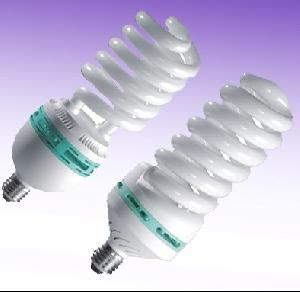 spiral cfl energy saving lamp