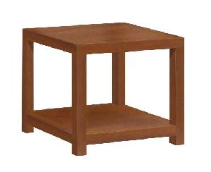 mesa rinconera square side table 60 x cm mahogany teak indoor furniture