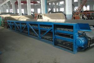 chain conveyor paper machinery stock preparation pulp line pulper cutter pressure screen rewi