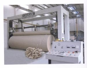 zwjk 2800 frame overfeed rewinder paper pulp machinery preparation refiner c