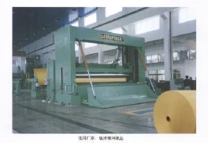 parameter zwjk 2800 frame overfeed rewinder paper machinery preparation cutter screen p