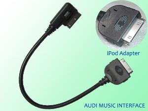 audi music interface cable ipod adapter ami