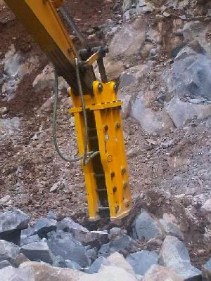 hydraulic breaker hammer excavator