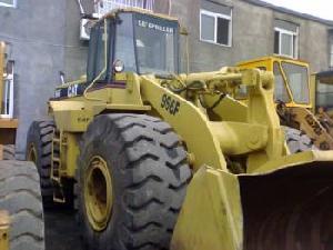 cat wheel loader 966f