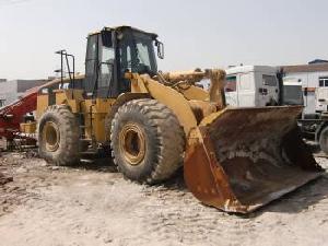 cat wheel loader 966g