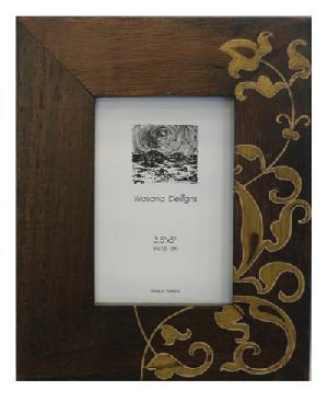 carved wood photo frame fm113 sm02