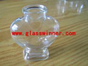 valentines glass jar