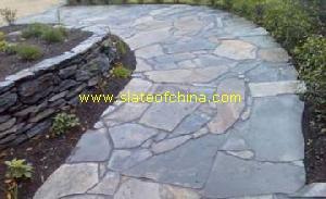 random slate paving slateofchina