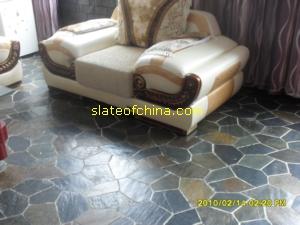 slate stone paver meshed paving flag mat slateofchina