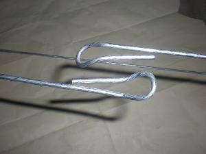 3 66 x 2400mm steel baling wire ties