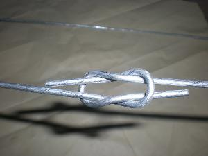 cotton baling steel wire ties loop