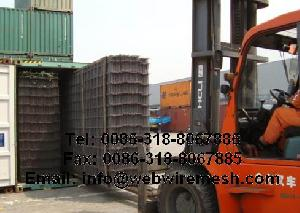 steel reinforcement welded wire mesh sheet concrete
