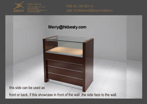 wholesale glass display showcase