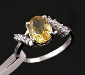 factory sterling silver citrine ring sapphire earring prehnite jadeite jewelry