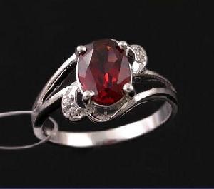 factory sterling silver garnet ring jadeite rainbow stone bracelet amethyst pe