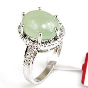 factory sterling silver jadeite ring jewelry prehnite earring garnet ri