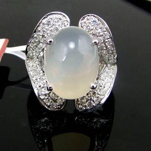 factory sterling silver moonstone ring fashionjewelry citrine smoky quartz pend
