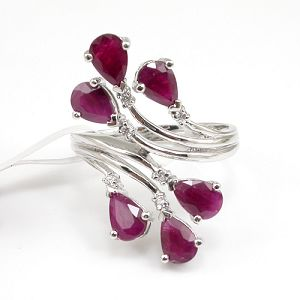 factory sterling silver ruby ring amethyst earring tourmaline blue topaz necklac