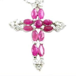 manufactory sterling silver 925 ruby pendant gemstone ring earring cz jewelry