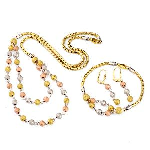 18k gold plating brass cubic zirconia earring necklace fashion jewelry cz ring pendant