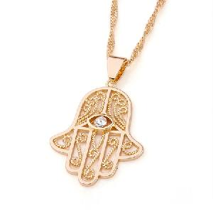 fashion jewelry 18k gold plating brass pendant cz ring earring