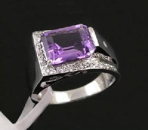 sterling silver amethyst ring cz jewelry sapphire earring blue topaz bracelet penda