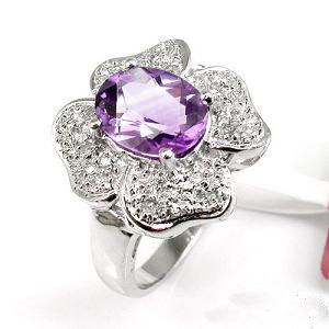 sterling silver amethyst ring tourmaline prehnite jadeite bracelet earring