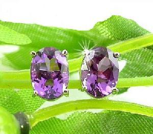 sterling silver amethyst stud earring garnet ring citrine bracelt ruby pendant
