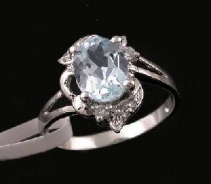 sterling silver blue topaz ring cz jewelry prehnite amethyst earring pendant brac