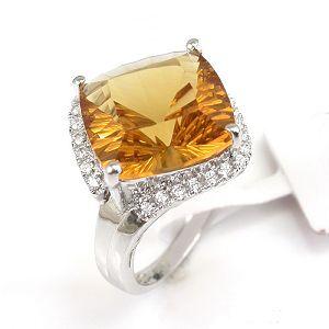 sterling silver citrine ring amethyst pendant blue topaz olivine sapphire e