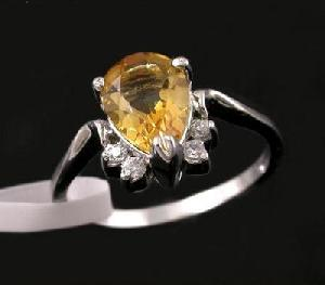 sterling silver citrine ring blue topaz bracelet olivine garnet prehnite ea