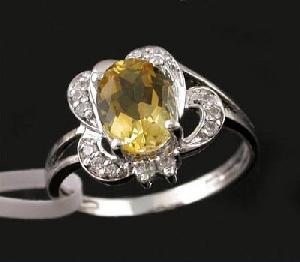 sterling silver citrine ring cz jewelry prehnite amethyst earring pendant b