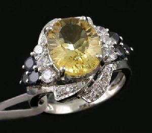 sterling silver citrine ring fashion jewelry prehnite ruby bracelet