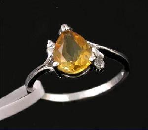 sterling silver citrine ring jadeite olivine bracelet pendant