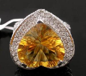 sterling silver citrine ring sapphire earring olivine pendant gemstone jewelry