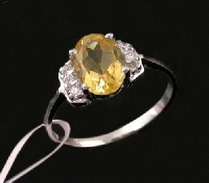 sterling silver citrine ring tourmaline agate bracelet earring