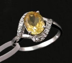 sterling silver citrine ring tourmaline rainbow stone jadeite bracelet pendan