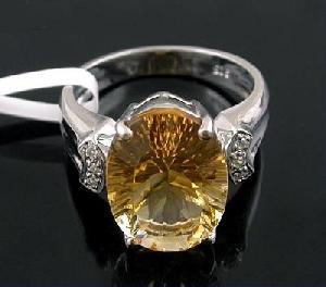 sterling silver citrine ring tourmaline jadeite bracelet prehnite pendant