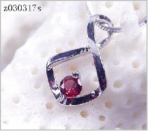 sterling silver garnet pendant citrine ring amethyst bracelet sapphire