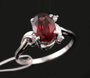sterling silver garnet ring tourmaline citrine pendant fashion jewelry