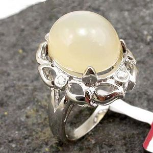 sterling silver moonstone ring fashion jewelry amethyst ruby citrine bracelet