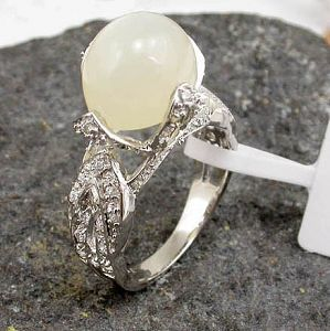 sterling silver moonstone ring tourmaline citrine amethyst cz jewelry earrin