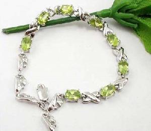 sterling silver olivine bracelet brass cz jewelry citrine sapphire ruby ring ear