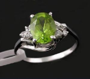 sterling silver olivine ring cz jewelry citrine sapphire ruby earring pend