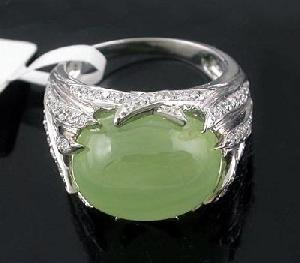 sterling silver prehnite ring citrine sapphire ruby earring tourmaline pend