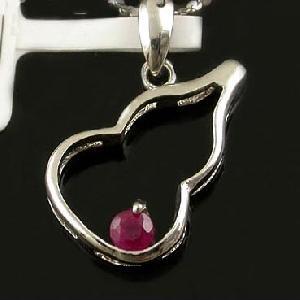 sterling silver ruby pendant tourmaline jadeite bracelet prehnite ring ea