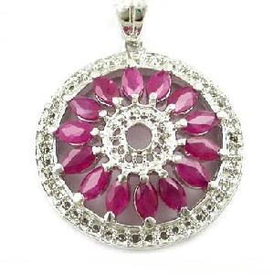 sterling silver ruby pendant tourmaline ring jadeite bracelet prehnite earrin