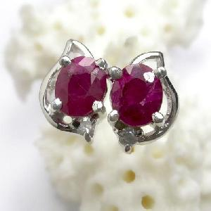 sterling silver ruby ring cz fashion jewelry sapphire prehnite earring